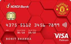 manchester united platinum credit card