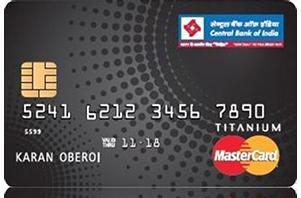 Central Bank of India Titanium Credit Card