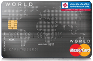 Central Bank of India World Credit Card