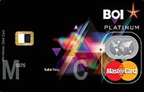 Bank Of India Visa Platinum Privilege Credit Card