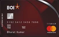 Bank Of India TAJ Premium Credit Card