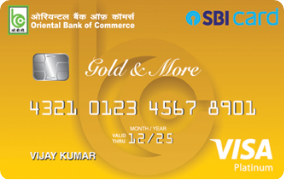 OBC SBI Gold Credit Card