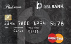 RBL Bank Classic Platinum Card
