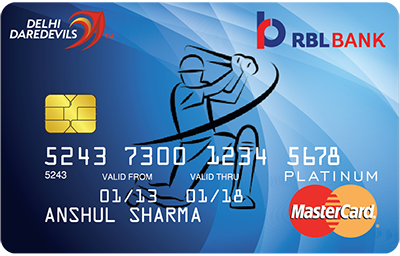 RBL Bank Platinum Cricket Card