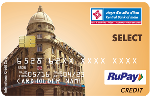Central Bank of India RuPay Select Credit Card