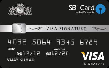 SBI Advantage Signature Credit Card