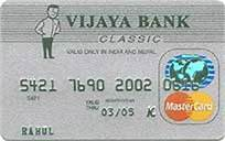 Vijaya Bank Credit Cards