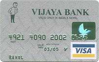 Vijaya Bank Visa Classic Credit Card