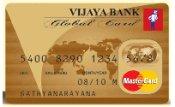 Vijaya Bank Mastercard Global Credit Card