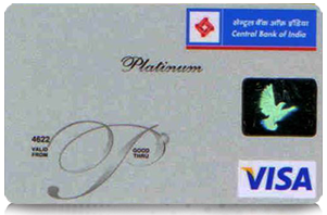 Central Bank of India Visa Platinum Credit Card